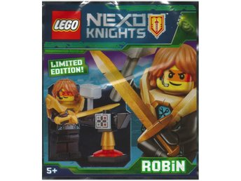 Lego - Figurer Nexo Knights Robin 271824  Limited Edition FP