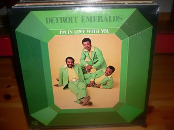 LP Detroit Emeralds - I´m in love with you **Still sealed!