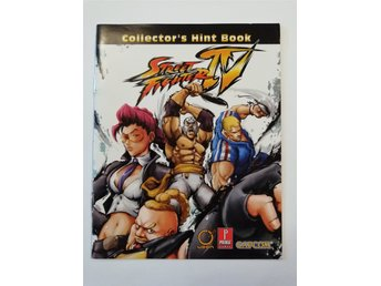 Street Fighter IV Collector's Hint Book