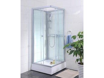Duschkabin 190 cm hög