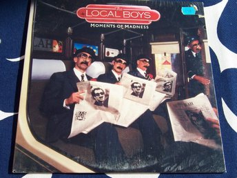 "LOCAL BOYS THE - MOMENTS OF MADNESS LP 1983 ""SEALED"""