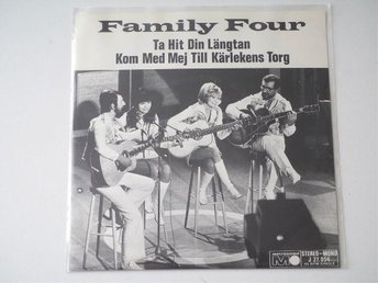 "Family Four / Ta Hit Din Längtan 7"" 1970 - Enskede - Family Four / Ta Hit Din Längtan 7"" 1970 - Enskede"