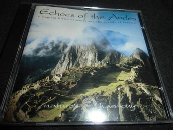 Echoes of the Andes: Natures harmony - CD - 1996