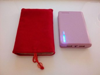 Power Bank Dual Output 1A & 2A With LED Indicator & Flashlight ( Hardly Used ) - Viskafors - Power Bank Dual Output 1A & 2A With LED Indicator & Flashlight ( Hardly Used ) - Viskafors