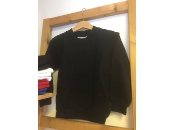 Sweatshirt/Collage - Black-svart,  storlek 90/100