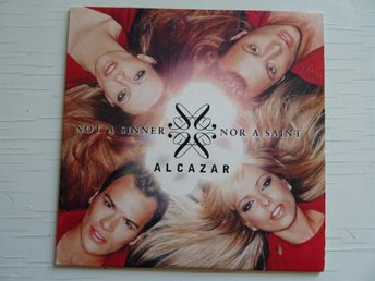 ALCAZAR Not a sinner nor a saint Melodifestivalen 2003 CD Singel