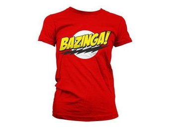 Big Bang Theory T-shirt Bazinga Dam XL