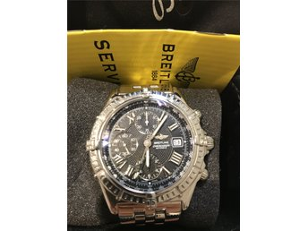 "Breitling 44mm, Chonomat Crosswind"" Chronometer Chronograph Steel"
