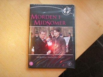 Morden i Midsomer - Morden i Badgers Drift Nr 1 - Ny DVD - Broby - Här har du en NY DVD - Morden i Midsomer - Morden i Badgers drift Nr 1 Inplastad. Skickar mina varor med posten och följer postens portotabell. Tar en liten kostnad då jag packar i nytt packningsmaterial. Totalpriset för frakten är den som g