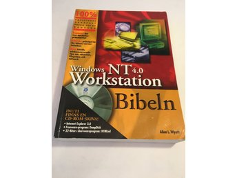 Bok Windows NT 4.0 Workstation Bibeln - 652 sidor - inkl CD-ROM