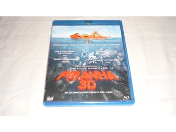 Blu-ray - Piranha 3D - Svensk text