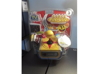 Super Pac-Man Collection - Ny+inplastad Plug & Play joystick med 4 st. arkadspel