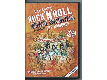EN  DVD MED FILM ROCK'N'ROLL HIGH SCHOOL......THE RAMONES..