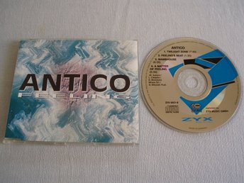 Antico – Feeling, ZYX Music – ZYX 6921-8, Made Germany 1992