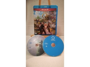 OZ The great and powerful (2012) 3D & 2D Bluray * Nyskick *