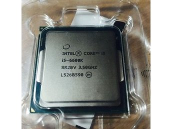 Intel® Core™ i5-6600K Processor 6M Cache, up to 3.90 GHz S1151 #GAMING