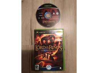 Lord of the rings The third age Xbox