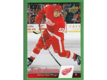 2010-11 Upper Deck Red Wing Sheets #DC11 Jonathan Ericsson Detroit Red Wings