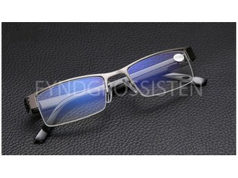 Blue Film Resin Reading Glasses Hyperopia +3.00 Fri Frakt Ny