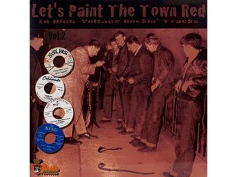 Various - Let's Paint The Town Red Vol. 2 LP - FRI FRAKT