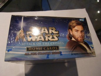 Star Wars Attack of the clones trading cards
