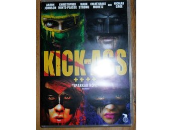 DVD--KICK ASS - Landskrona - DVD--KICK ASS - Landskrona