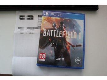 Battlefield 1 (PS4) I nyskick - Nödinge - Battlefield 1 (PS4) I nyskick - Nödinge