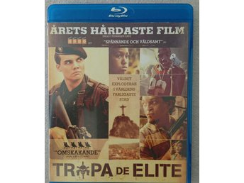 "Bluray ""Tropa de Elite"""