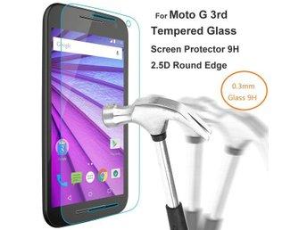 Motorola Moto G3 (3rd Gen) Härdat Glas Skärmskydd 0,3mm - Snabb Leverans! - Göteborg - Motorola Moto G3 (3rd Gen) Härdat Glas Skärmskydd 0,3mm - Snabb Leverans! - Göteborg