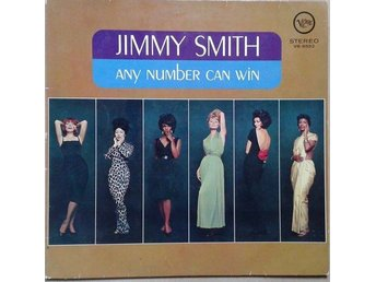 Jimmy Smith title* Any Number Can Win* Jazz LP Germany