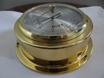 Äldre rund vägg barometer, Made in Germany