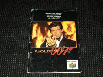 N64 Golden Eye 007 Manual
