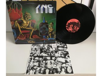 I.N.C. The Visitor 1988 LAAZ ROCKIT,NUCLEAR ASSAULT,TESTAMENT,EXODUS,GOTHIC SLAM