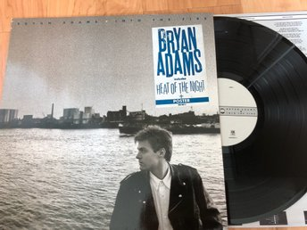 Bryan Adams - Into the Fire LP GER 1987