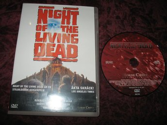 NIGHT OF THE LIVING DEAD (GEORGE A ROMERO) DVD
