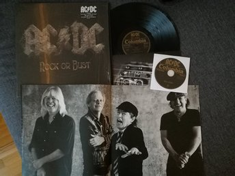 AC/DC - ROCK OR BUST - VINYL, CD, BOOKLET - LENTICULAR COVER - 3D - 180 GRAM