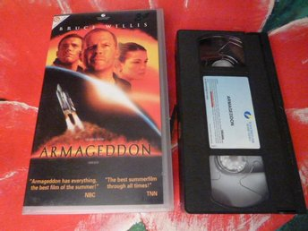 ARMAGEDDON, VHS, ACTION, SCIENCE FICTION, FILM, 144 MIN.