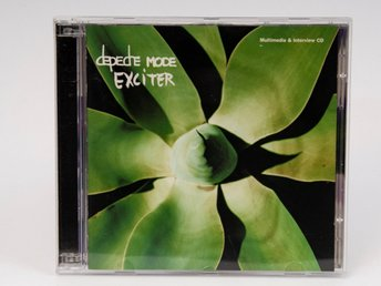 Depeche Mode: Exciter UK Promo 2xCD, (IPKCDSTUMM190) 2001