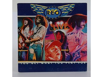 REO Speedwagon - You get what you play for LP