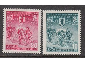 DDR 1955. Minr: 470-71 * * - Njurunda - DDR 1955. Minr: 470-71 * * - Njurunda
