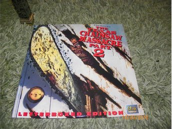 The texas chainsaw massacre 2 Letterbox edition Elite 1LD
