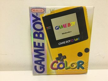 Gul Gameboy Color - Toppskick - Svensksåld - SCN