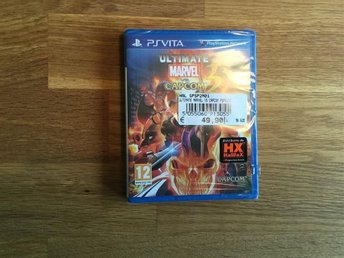 Playstation PS Vita Ultimate Marvel vs Capcom 3