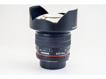 Samyang 14mm f/2,8 IF ED UMC Aspherical till Nikon ( 14 / 2.8 )