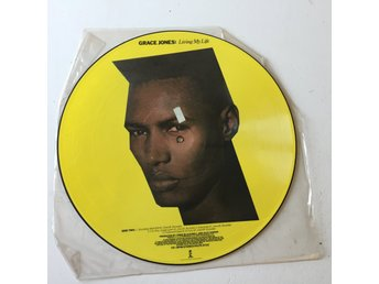 GRACE JONES  - LIVING MY LIFE. LTD, (PIC LP)
