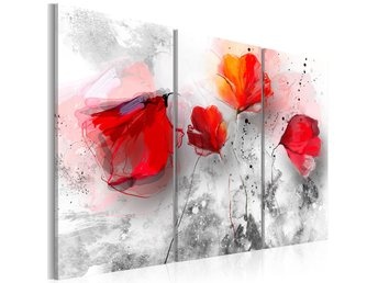 Tavla - Poppies with finesse 120x80