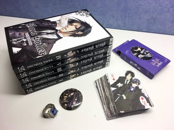 BLACK BUTLER Kuroshitsuji kit – Manga Ring Kortlek Pin