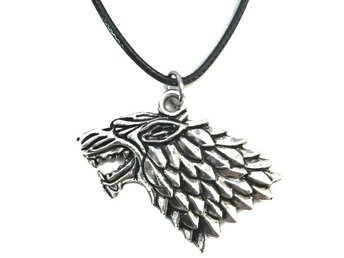 Halsband House Stark Game Of Thrones Wolf Varg Halsband Rem