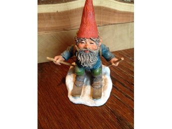 Gnomes Rien Poortvliet original, made in Holland.Trolltyg i tomteskogen. Paul.