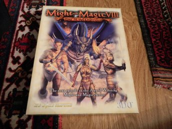Might And Magic VIII 8 - Day of destroyer Big Box of heroes